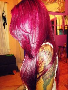 """Magenta Hair Color The beauty of hair is defined by few factors: Density, strength, shine,Read More """"Magenta Hair Colour Ideas And Hairstyles"""" Love Hair, Gorgeous Hair, Hair Colorful, Natural Hair Styles, Long Hair Styles, Big Chop, Brazilian Hair, Hair Dos, Pink Hair"""
