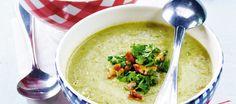 Kukkakaali-parsakaalikeitto Soup Recipes, Vegetarian Recipes, Cooking Recipes, Healthy Recipes, Cheeseburger Chowder, Hummus, Food And Drink, Vegan, Dinner