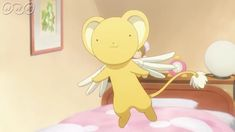 Cardcaptor Sakura Clear Card, Kero Sakura, Anime Mermaid, Card Captor, Syaoran, Anime Manga, Tweety, Disney Characters, Fictional Characters