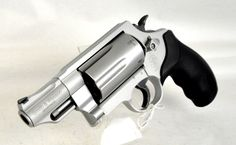 """Smith & Wesson Governor .45 ACP / .45 LC / .410 GA Stainless Steel. 160410. The Smith & Wesson Governor revolver puts six rounds of customizable response under your control. Load with .410 2 1/2"""" shotshells, .45 ACP or .45 Colt - alone or in combination. Features front black ramp sight with fixed rear sight, Scandium alloy frame and Stainless Steel cylinder with matte silver finish. 6-shot capacity. 2.75"""" barrel. 29.6 oz. [New in Box] $699.99"""