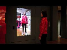 PUMA STORE Harajuku INTERACTIVE MIRROR® - YouTube