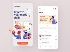 Music App, Your Music, Mobile Design, App Design, Course Search, World View, Best Wordpress Themes, Media Design, App Development