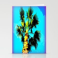 Free Worldwide Shipping Today! #photography #palmtrees #arizona Set of folded stationery cards printed on bright white, smooth card stock to bring your personal artistic style to everyday correspondence.  Each card is blank on the inside and includes a soft white, European fold envelope for mailing.