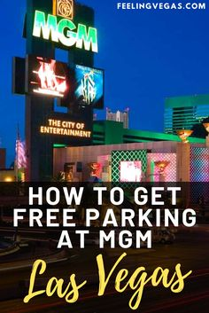 These days, you can hardly drive up or down the Las Vegas Strip without sighting at least two major casinos owned by MGM Resorts. Fortunately, we found this simple way to park at any MGM property in Las Vegas for free. In this article, we'll discuss all you need to know about using the M Life loyalty program to get free parking. #lasvegas #vegas #mgm #hotels #freeparking Las Vegas Tips, Mgm Las Vegas, Las Vegas Food, Moving To Las Vegas, Las Vegas Airport, Las Vegas Vacation, Visit Las Vegas, Delano Las Vegas, Delano Hotel