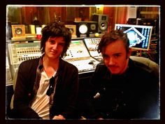 "Check Out Harrison Whitford and Andrew Wells Rockin' ""#Studio A"" @ ES Audio #RecordingStudio in L.A. Over the Weekend!:)  #Rock On!:)  www.esaudio.com 2013"