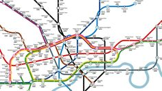 Click for the full-sized map Dreaming of an easier commute? It's always near the top of every Londoner's wishlist, whether you're a long-suffering commuter w