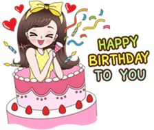65 Trendy Happy Birthday Gif With Name Cute Birthday Wishes, Happy Birthday Girls, Happy Birthday Quotes, Happy Birthday Images, Birthday Greetings, Cute Cartoon Pictures, Cute Cartoon Girl, Cute Love Cartoons, Cute Cartoon Wallpapers