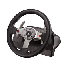 Finding a great steering wheel for driving games is important for many PC gamers because it helps add a sense of realism and fun to the gaming. Real Racing, Best Pc, Six Speed, Wheels For Sale, Wireless Home Security Systems, Racing Wheel, Electronic Gifts, Stitching Leather, Entertainment System