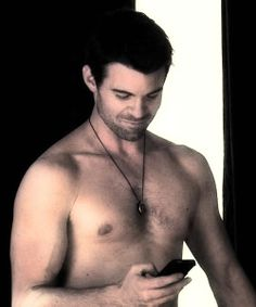 """Elijah (This is actually from Daniel's other show """"Saving Grace"""".  You can tell by how scruffy he is)"""