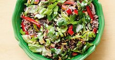 Try something different with this delicious and nutritious crunchy rice salad.