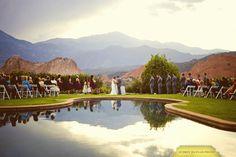 Garden of the Gods mountain wedding.