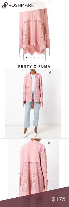FENTY x PUMA Brand new with tags Rihanna FENTY jacket Great condition.  Polyester make Puma Jackets & Coats