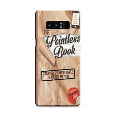 The Pointless Book Samsung Galaxy Note 8 3D Case
