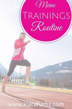 Fitnessblog Meine persönliche Trainingsroutine! Was ich mache und wie ich gerade trainiere könnt ihr hier nachlesen! :)