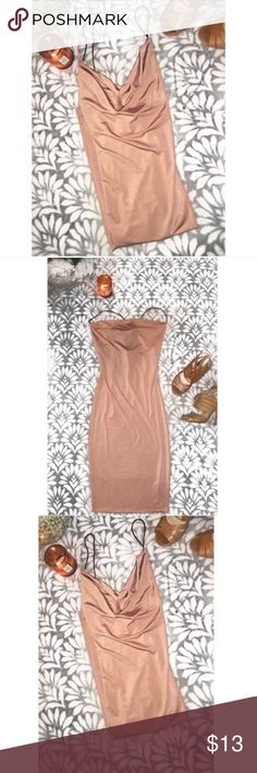 """Fashion Nova Dress Brand new with tags never worn """"What a catch Dress"""" - in Mauve, Sold out on actual Fashion Nova site originally $25 Fashion Nova Dresses"""