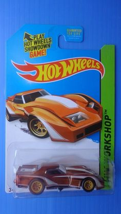 2014 Hot Wheels Super Treasure Hunt '76 Greenwood Corvette Real Riders #HotWheels #Chevrolet