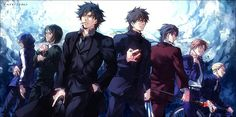 Fate Zero    All Masters