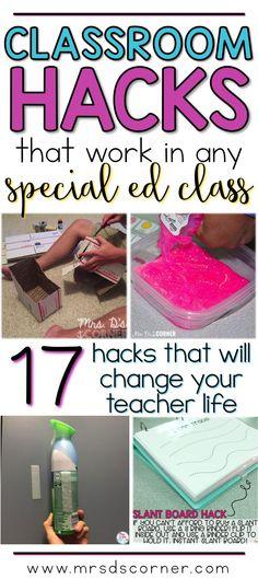 17 classroom hacks t