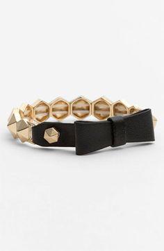 Bow Stud Bracelet