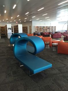 NCSU Hunt Library Furniture KRISP Snapshot Critique