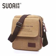 e7da45aed85a fashion bags 2015 new men s Canvas Bag Korean version one Shoulder Bags  crossbody messenger bags