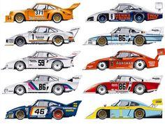 PORSCHE 935 RACE ART