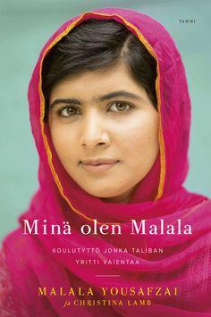 Nobelin rauhanpalkinnon 2014 saaja, uskomattoman rohkea Malala ja hänen ainutlaatuinen tarinansa: https://kirja.elisa.fi/ekirja/mina-olen-malala