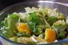 ensalada de mango y nabos
