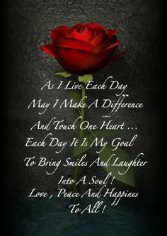 As I Live Each Day life quotes quotes positive quotes quote life positive rose wise advice wisdom life lessons positive quote