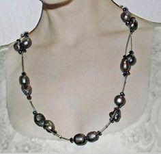 perlas barrocas y Swarovski