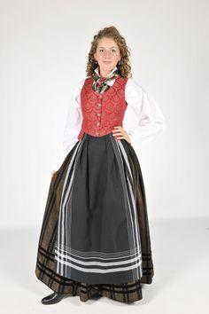 Tromsbunad Folk Costume, Costumes, Norwegian Clothing, Tromso, Norway, Lofoten, Culture, Scandinavian, Skirts