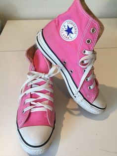 3 Youth EU 34.5CONVERSE CHUCK TAYLORALL STARS HIGH TOPS PINKTennis Shoes   fashion  clothing 9327059cc