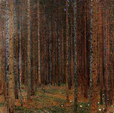 klimt woodland - Google Search