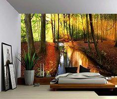 Seascape Ocean Rays of Light Large Wall Mural Self adhesive Vinyl