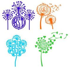 Dandelion Flower Flying in the Wind Pack Monogram Round Circle Frame Cuttable Design Cut File. Vector, Clipart, Digital Scrapbooking Download, Available in JPEG, PDF, EPS, DXF and SVG. Works with Cricut, Design Space, Sure Cuts A Lot, Make the Cut!, Inkscape, CorelDraw, Adobe Illustrator, Silhouette Cameo, Brother ScanNCut and other compatible software.