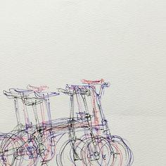 Si no montamos en bici, pintamos. #Dahon #pintura #dahonexplorer #Motordealer