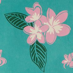 Midori's Plumeria Gift Wrap captures the essence of tropical flower aromas that kiss your senses during a watercolor pink sunset in the Hawaiian Islands.  http://www.midoriribbon.com/gift-wrap-plumeria-turquoise/