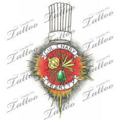 Marketplace Tattoo Culinary Trinity #2848 | CreateMyTattoo.com
