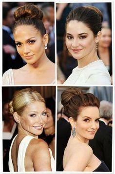 Peinados vintage que participaron en los Oscar [Fotos]