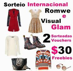 Sorteio Internacional Romwe: Ganhe um voucher de $30 nesse Natal! 2 Sorteadas / 2 Vouchers | VISUAL GLAM