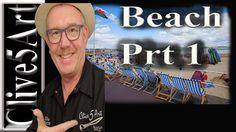 Beginners, Acrylic, Painting ,Tutorial- Beach & Rocks