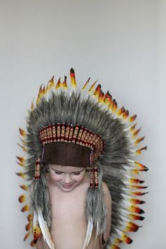 beautiful native american headdress