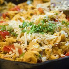 I first had Migas in Austin, Texas, when I was visiting my sister, Betsy, and her techie-nerd husband, Matt. Because I woke up one morning during my stay with a raging case of LBSCBDO, Betsy and Ma...