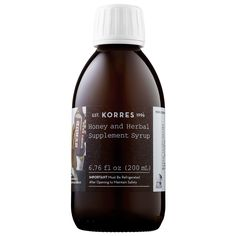 Honey and Herbal Supplement Syrup - Korres | Sephora