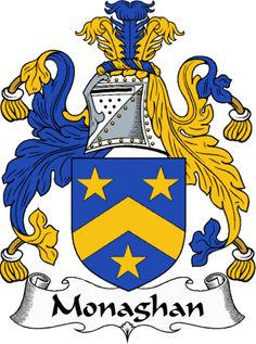 The Monaghan family crest