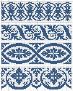 Cross Stitch Heart, Cross Stitch Borders, Cross Stitch Designs, Cross Stitching, Modern Cross Stitch, Cross Stitch Embroidery, Crochet Motif Patterns, Fair Isle Knitting Patterns, Knitting Charts