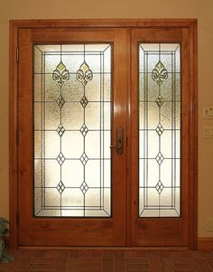 Entryway Stained Glass Door - SGE Door plus side panel Glass Door, Glass Bathroom, Cream Living Rooms, Wine Glass Art, Door Glass Design, Stained Glass Door, Glass, Door Sidelights, Glass Design