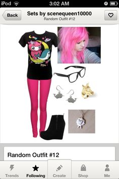 Scene outfit
