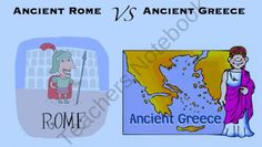 Greece VS Rome from 6th Grade Craziness on TeachersNotebook.com (9 pages)  - This is a webquest for students to compare and contrast Greece and Rome.  It provides websites to get them started and gives them a choice of end product.  It also includes the lesson plans with standards listed.  :)  Lots of work done for you!  :)