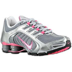 Nike Shox Navina SI - Women's - Wolf Grey/Black/Fireberry/Anthracite